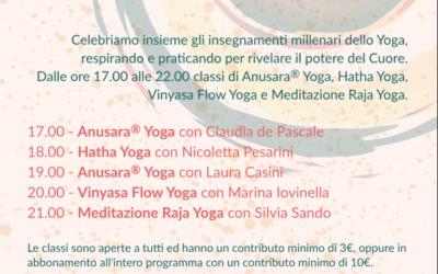 International Yoga Day a Spazio Vitale – 21 Giugno 2017