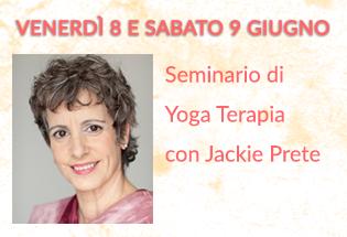 Seminario di Yoga Terapia con Jackie Prete