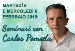 Seminari con Carlos Pomeda 5 e 6 Febbraio 2019