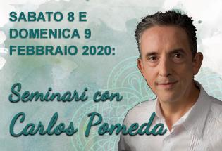 Seminari con Carlos Pomeda 8 e 9 Febbraio 2020