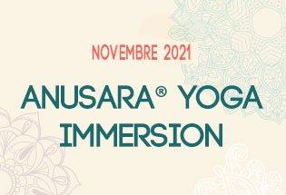 Anusara® Yoga Immersion Novembre 2021